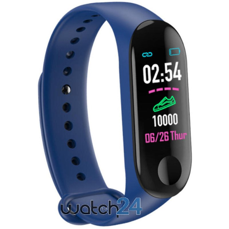 Bratara fitness Generic cu bluetooth, monitorizare ritm cardiac, notificari, functii fitness S122